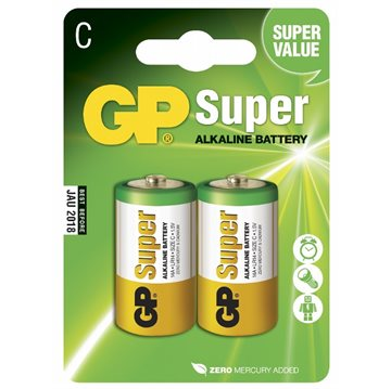 GP Super Alkaline C 2-pk