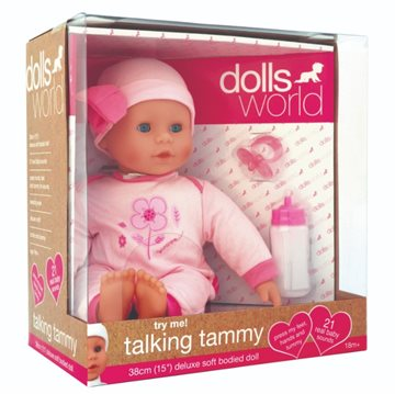 Talking Tammy 38cm m/21 lyde