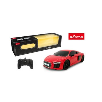 RC 1:24 Audi R8 2015 Version Rød