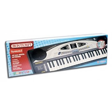 Bontempi 49 Midi Keys DJ digital Keyboard 77x24x6cm