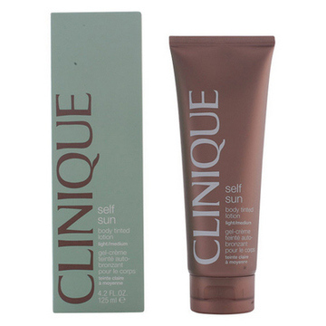Selvbruner [Creme/Spray/Mælk] Sun Body Tinted Light Clinique (125 ml)