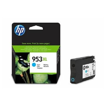 Original Ink Cartridge Hewlett Packard F6U16AE Cyan