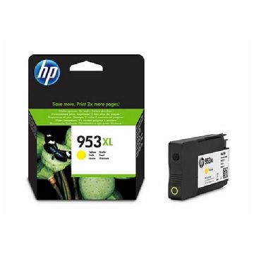Original Ink Cartridge Hewlett Packard F6U18AE Yellow