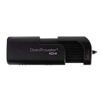 USB stick Kingston DT104 USB 2.0 Sort