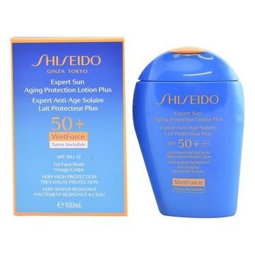 Solcreme Expert Sun Aging Protection Shiseido Spf 50 (100 ml)