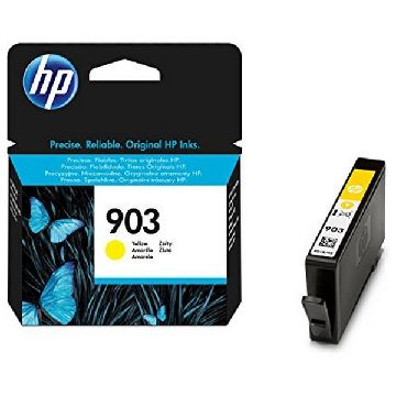 Original Ink Cartridge Hewlett Packard T6L95AE Yellow