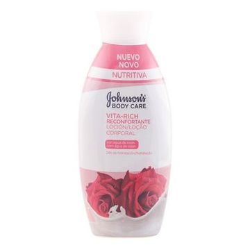 Rørende Body Lotion Roser Vita-rich Johnson's 11005