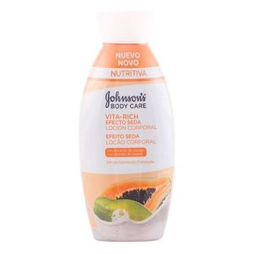 Body Lotion med Papaya Silke Effekt Vita-rich Johnson's 11012