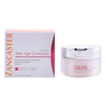 Anti-Age Dagcreme Total Age Correction Rich Lancaster Spf 15 (50 ml)