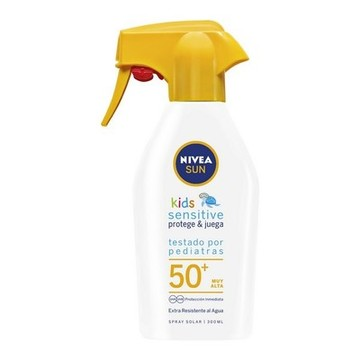 Solcreme spray Sensitive Kids Nivea (300 ml)