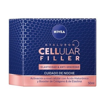 Anti-rynke natcreme Cellular Filler Nivea (50 ml)