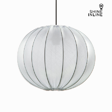 Loftslampe Materiale Polyester Blanco by Shine Inline