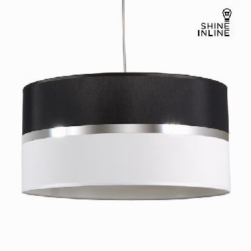 Sort og hvid loftslampe by Shine Inline