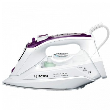 Steam Iron BOSCH TDA703121A 380 ml SoftTouch 3200W White Purple Ceramic