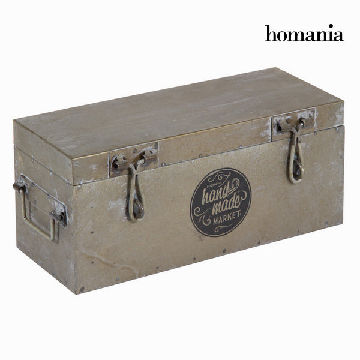 Sølv metal box - Art & Metal Samling by Homania