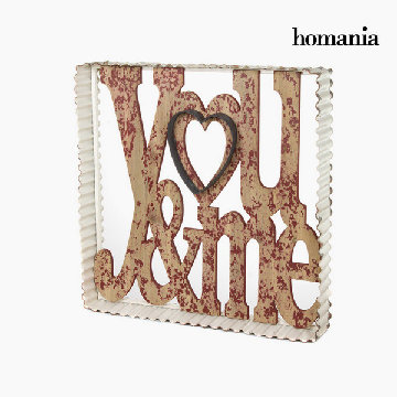 Metalramme you&me by Homania