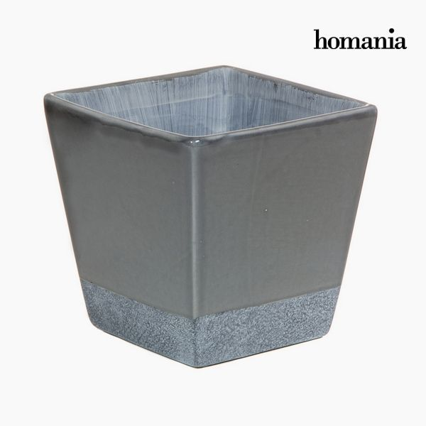 Planter Ceramic Grey by Homania