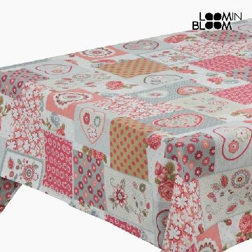 Tablecloth Heart Red - Little Gala Collection by Loom In Bloom