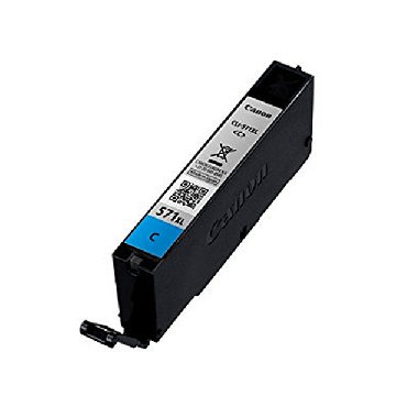 Original Ink Cartridge Canon CLI-571CY XL Cyan