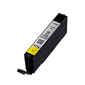 Original Ink Cartridge Canon CLI-571YL XL Yellow