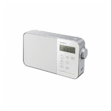 Clock-Radio Sony ICF-M 780 LED FM White