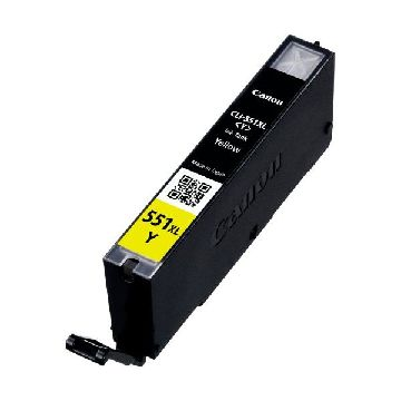 Original Ink Cartridge Canon CLI-551Y XL IP7250/MG5450 Yellow