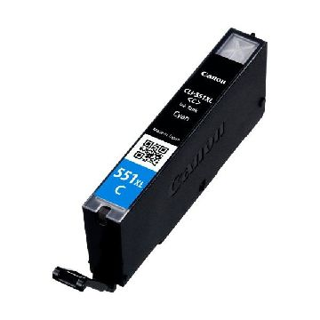 Original Ink Cartridge Canon CLI-551C XL IP7250/MG5450 Cyan