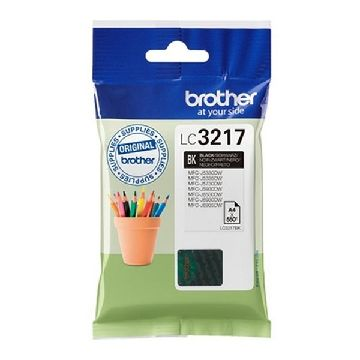 Original Ink Cartridge Brother LC3217BK Black