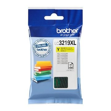 Original Ink Cartridge Brother LC3219XLY Yellow