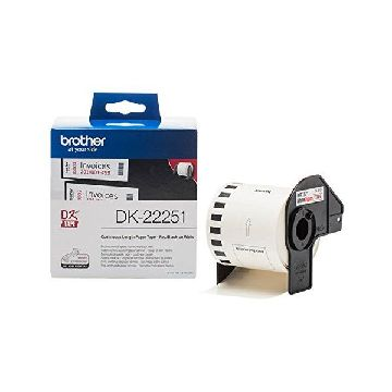 Printer Labels Brother CCICIS0079 DK22251 15,24 m Negro|Azul|Blanco