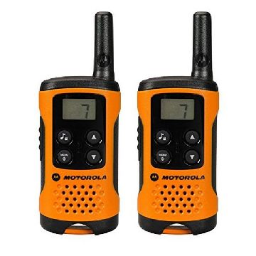 Walkie-talkie Motorola TLKR T41 4 km LCD 16 h AAA Sort Orange