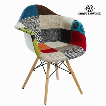 Pp patchwork stol by Craften Wood