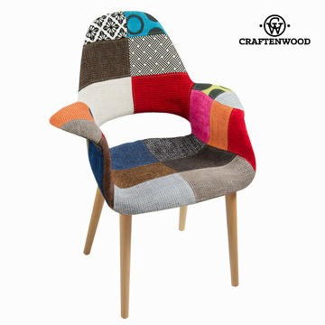 Patchwork polypropylene stol by Craften Wood