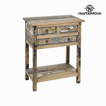 Bejdset bord med 3 skuffer  - Poetic Samling by Craften Wood