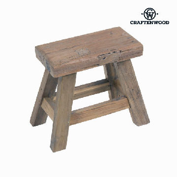 Stool Wood - Village Collection by Craftenwood