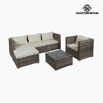 Sofa og spisebordssæt (4 pcs) by Craftenwood
