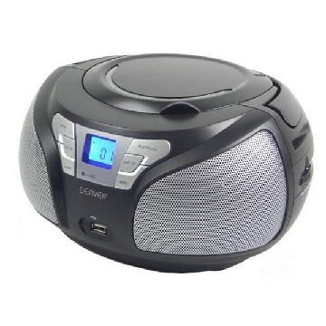 CD-radio Denver Electronics TCU-206BL Sort