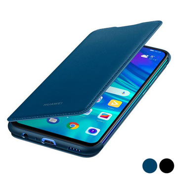 Bog-case P Smart 2019 Huawei Flip Cover Læder Sort