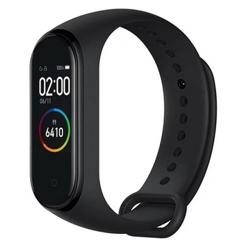 "Aktivitetsarmbånd Xiaomi Mi Smart Band 4 0,95"" AMOLED Bluetooth 5.0 Sort"