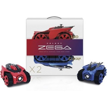 Car Zega BXZE1001 Leo&Gondar (2 pcs) Wireless Blue Red