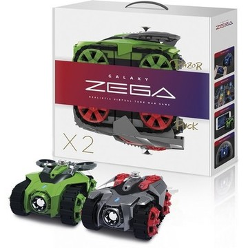Car Zega BXZE1002 Razor&Puck (2 pcs) Wireless Red Green
