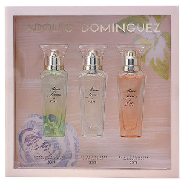 Women's Perfume Set Aguas Frescas Adolfo Dominguez (3 pcs)