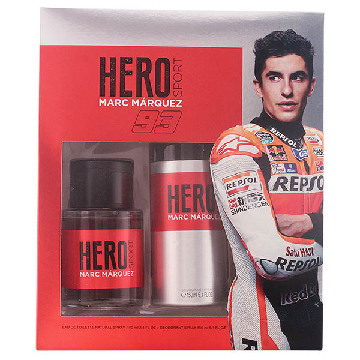 Men's Perfume Set Hero Marc Marquez (2 pcs)