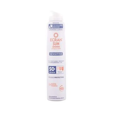 Solbeskyttelse - mousse Sensitive Ecran SPF 50+ (200 ml)