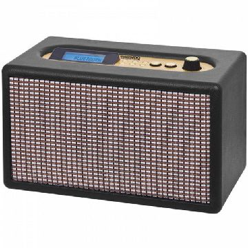 Wireless Bluetooth Speaker Daewoo DRP-137 USB 25W Radio Black