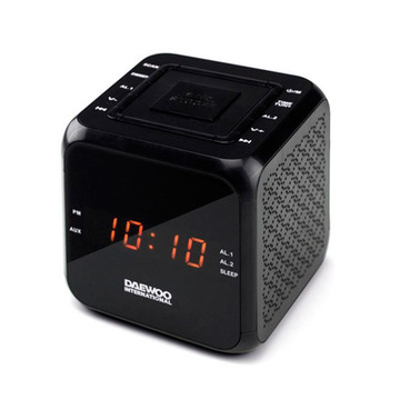 Clockradio Daewoo DCR-450 Sort