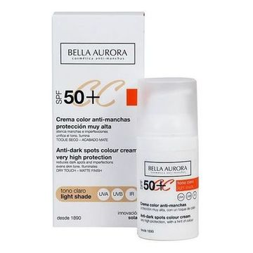Anti-plet creme Cc Cream Bella Aurora Lysebrun 30 ml