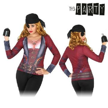 Adult T-shirt Th3 Party 6702 Female pirate