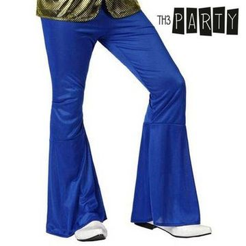 Adult Trousers Th3 Party Disco Blue S1101081
