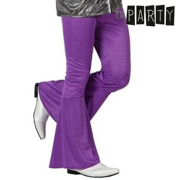 Adult Trousers Th3 Party Disco Purple S1101087